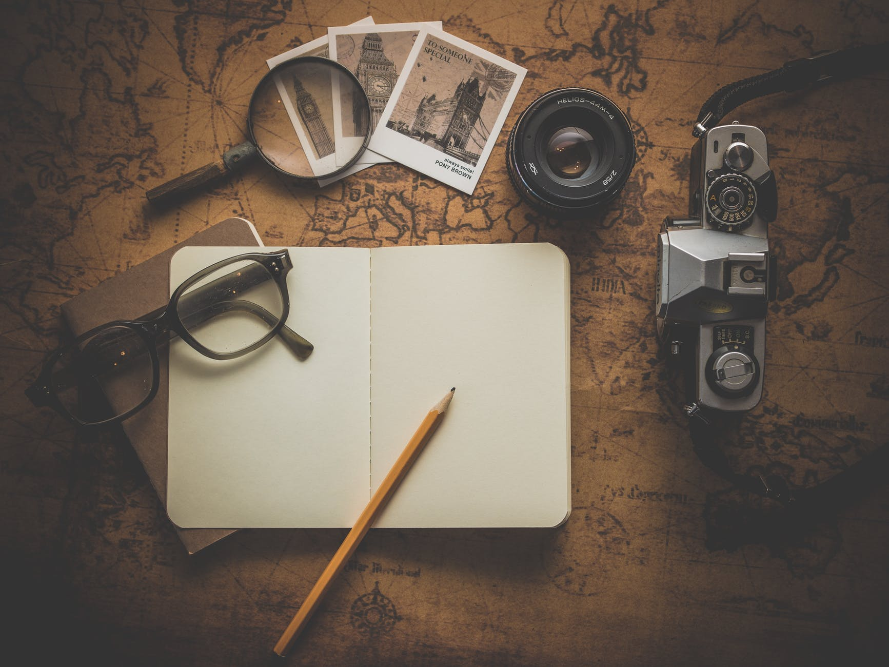 antique blank camera classic